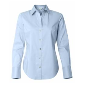 Calvin Klein LADIES' L/S Cotton Stretch Shirt