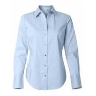Calvin Klein | Calvin Klein LADIES' L/S Cotton Stretch Shirt