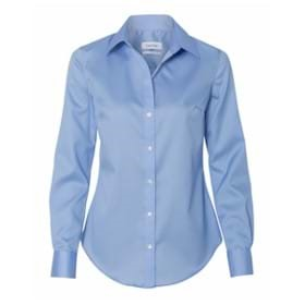Calvin Klein LADIES' Non Iron Pincord Shirt
