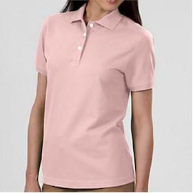IZOD LADIES' Knit Stretch Pique Polo