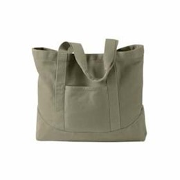 Authentic Pigment | Authentic Pigment Pigment-Dyed Large Canvas Tote