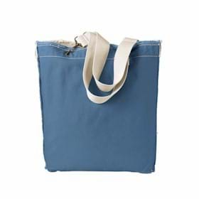 AP Direct-Dyed Raw-Edge Tote
