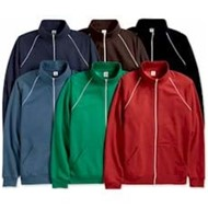 Canvas | Canvas Full-Zip Fleece Jacket w/ Piping