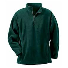 North End Solid Polyester Fleece Half Zip
