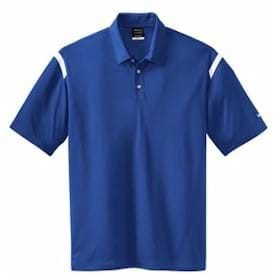 Nike Golf Dri-Fit Shoulder Stripe Sport Shirt