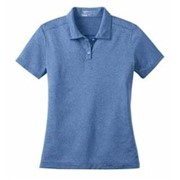 NIKE Golf LADIES' Dri-Fit Heather Polo
