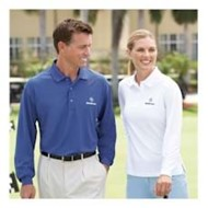 Page & Tuttle | Page & Tuttle L/S LADIES' Cool Swing Ottoman Polo