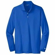 NIKE TALL L/S Dri-Fit Stretch Tech Polo