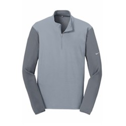 Nike | NIKE Golf Dri-Fit Fabric Mix 1/2-Zip Cover-Up