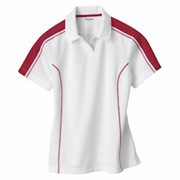 EXTREME LADIES' Eperformance Pique Colorblock Polo