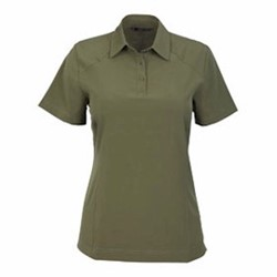 North End LADIES' Excursion Crosscheck Woven Polo