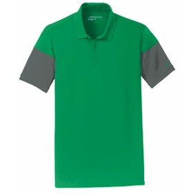 NIKE Golf Dri-FIT Sleeve Colorblock Polo
