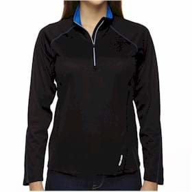 North End LADIES' L/S Half Zip Performance Top