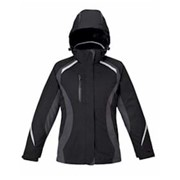 North End LADIES' 3-in-1 Jacket w/ Insulated Liner
