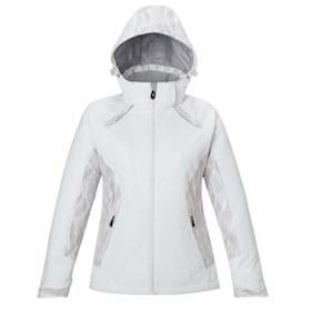 North End LADIES' Insulated Jacket w/ Print