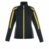 North End | North End LADIES' Strike Colorblock Fleece Jacket