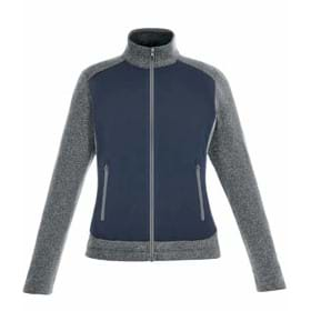 North End LADIES' Victory Hybrid Fleece Jacket