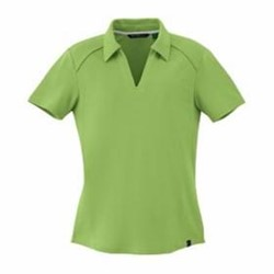 North End LADIES' Recycled Polyester Pique Polo
