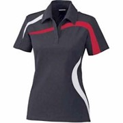 North End LADIES' Impact Color-Block Polo