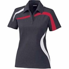 North End | LADIES' Impact Color-Block Polo
