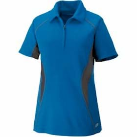 North End Serac LADIES' Zippered Polo