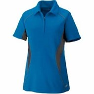 North End | Serac LADIES' Zippered Polo