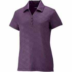 North End MAZE LADIES' Embossed Print Polo