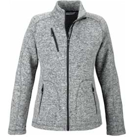 North End LADIES' Peak Sweater Fleece Jacket