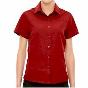 North End LADIES' Charge Recycled Polyester Shirt
