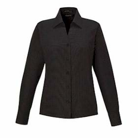 North End LADIES' Wrinkle-Free Twill Taped Shirt