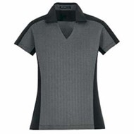 North End | North End LADIES' Merge Cotton blend Melange Polo
