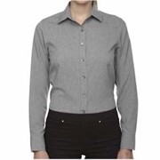 Ash City LADIES' CENTRAL AVE Melange Shirt