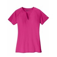 Nike | Nike Golf Ladies Dri-FIT Stretch Woven V-Neck Top