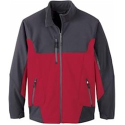 North End Color-Block Soft Shell Jacket