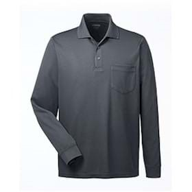 Core365 Performance LS Piqué Polo w Pocket