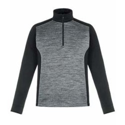 North End | North End Conquer Performance Melange Half-Zip Top