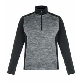 North End Conquer Performance Melange Half-Zip Top