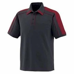 North End Performance Polyester Pique Polo