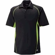 North End Serac Performance Zippered Polo