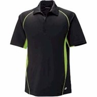 North End | North End Serac Performance Zippered Polo