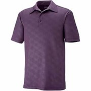 North End Maze Embossed Print Polo