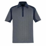 North End Merge Cotton Blend Melange Polo