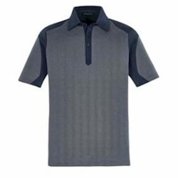 North End | North End Merge Cotton Blend Melange Polo