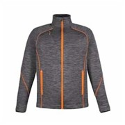 Ash City FLUX Melange Bonded Fleece Jacket