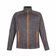 North End | Ash City FLUX Melange Bonded Fleece Jacket