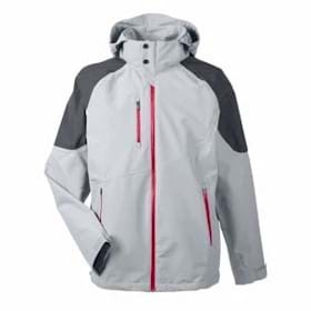 North End Sport Red Seam-Sealed Shell Jacket