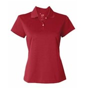 Adidas Golf LADIES' ClimaLite S/S Pique Polo