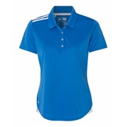 Adidas LADIES' Climacool 3-Stripes Shoulder Polo