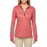 Adidas Golf LADIES' Brushed Terry Heather 1/4-Zip