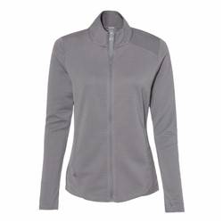 Adidas LADIES' Textured Full Zip Jacket